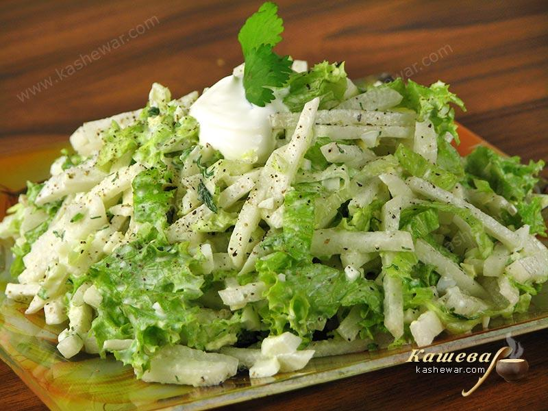 Nowruz Salad – recipe with photo, Uzbek cuisine