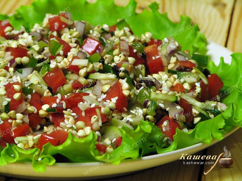 Green Buckwheat Salad