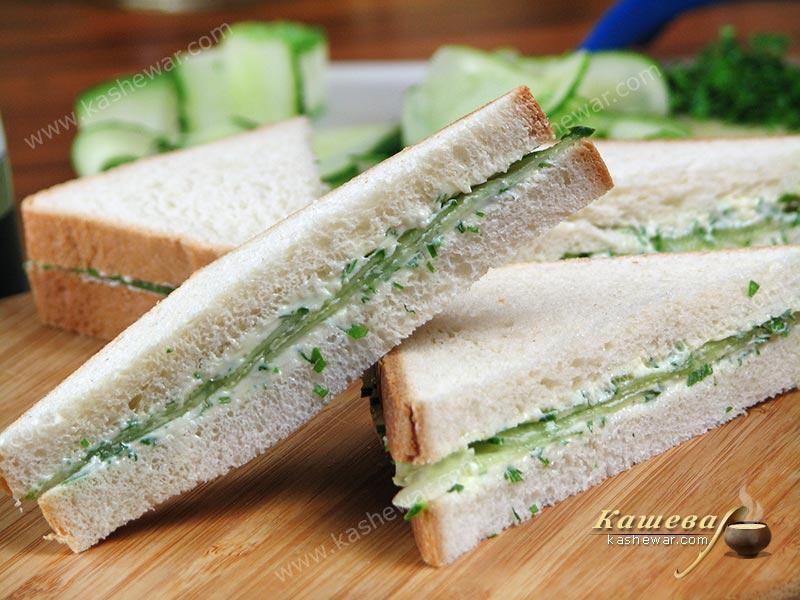 Cucumber sandwiches – recipe with photo, English cuisine