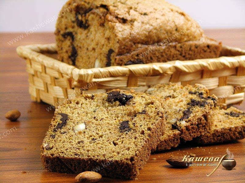 Chocolate-pumpkin bread – recipe with photo, American cuisine