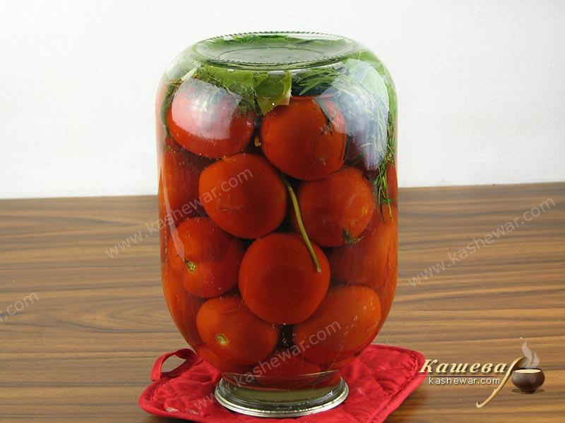 Salted tomatoes – recipe with photo, food preservation recipe for the winter