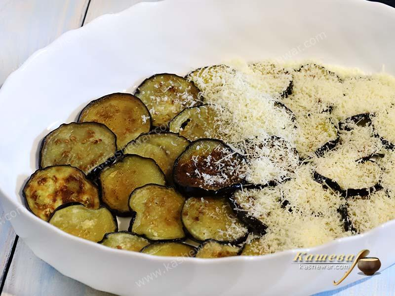 Eggplant and cheese