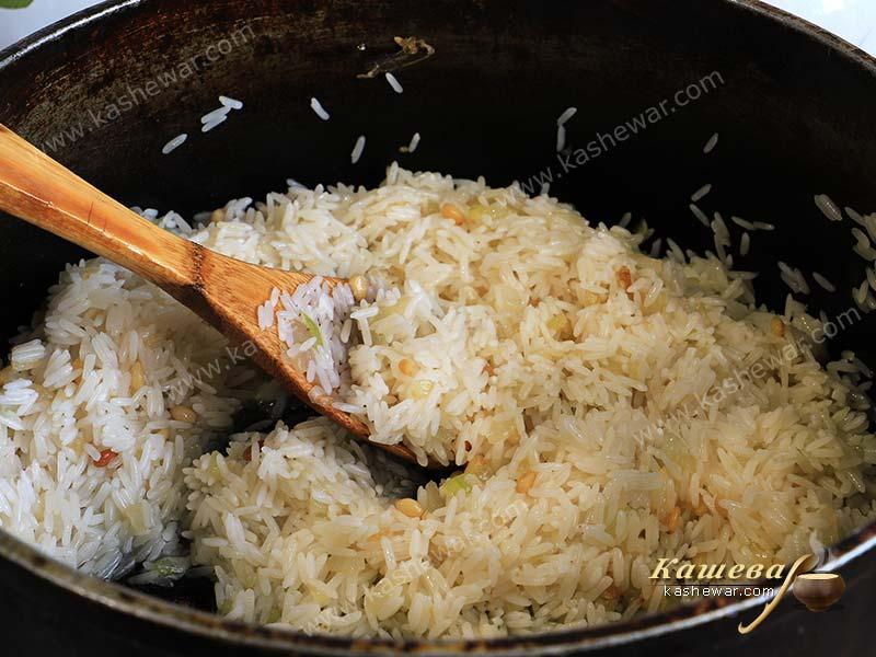 Pilaf and rice