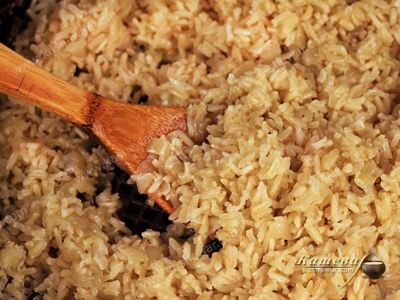 Rice for pilaf