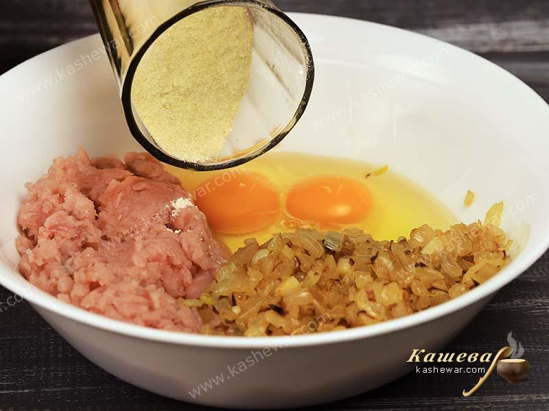 Forcemeat preparation for gefilte fish