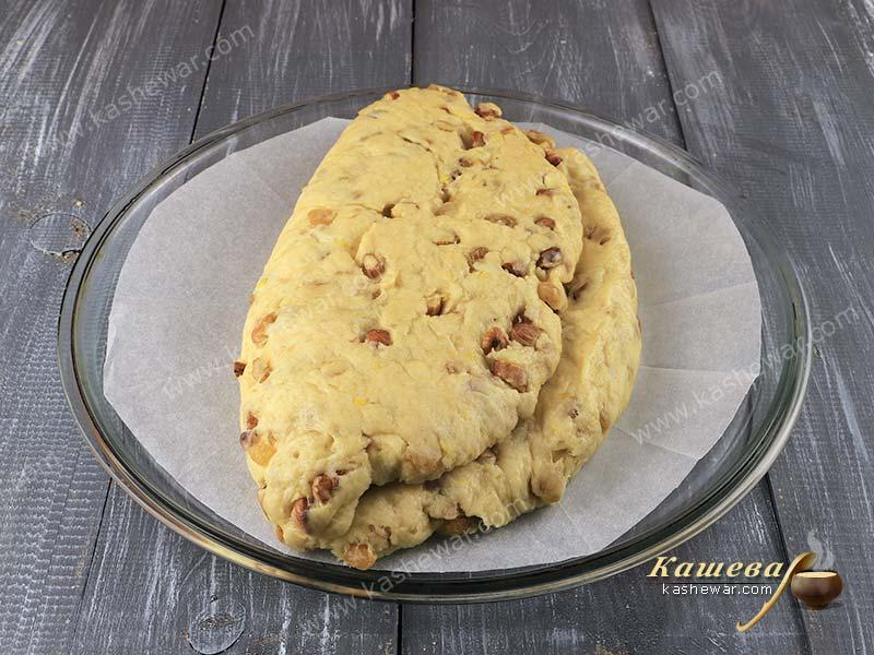Stollen before baking