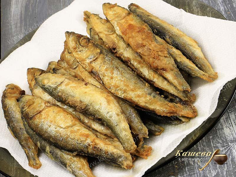 Fried fish fines