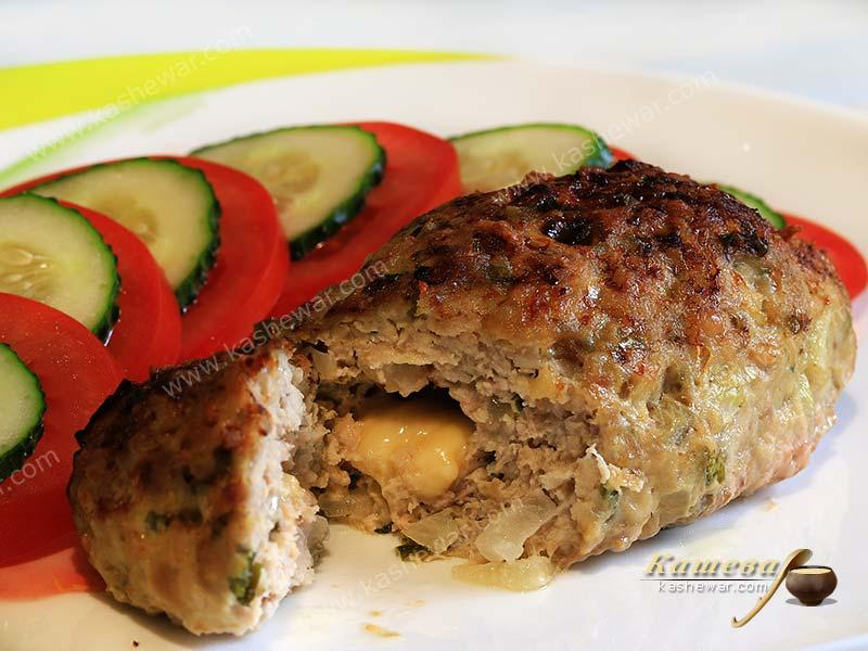 Cheese stuffed pork cutlets – recipe with photo, American cuisine