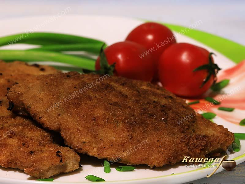 Pork cutlet or schnitzel – recipe with photo, German cuisine
