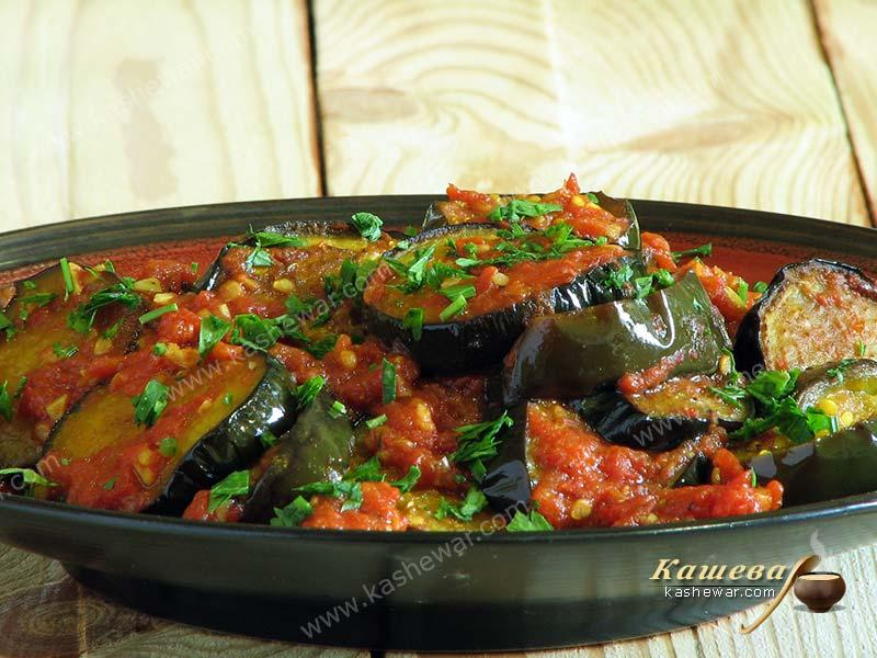 Eggplant syrdak – recipe with photo, Azerbaijani cuisine