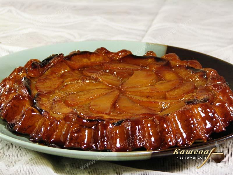 Tarte taten with quince – recipe with photo, French cuisine