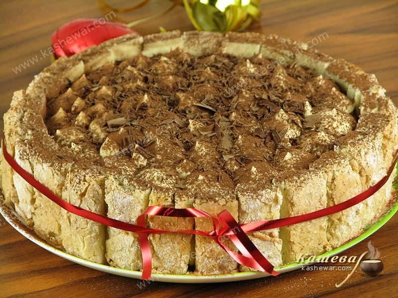 Tiramisu cake – recipe with photo, Italian cuisine