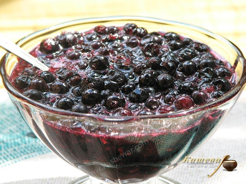 Five-minute Blackcurrant Jam