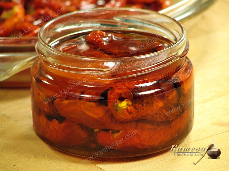 Sun-dried tomatoes – recipe with photo, Italian cuisine