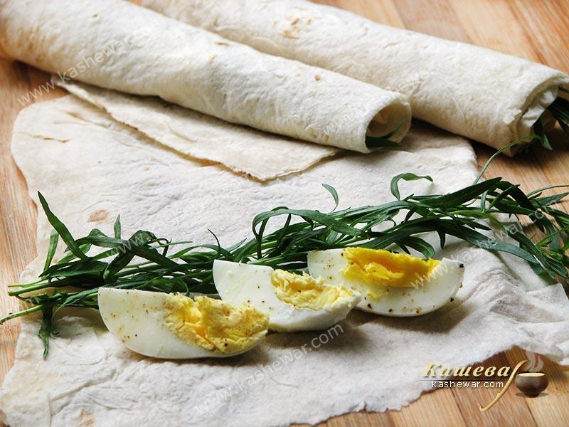 Tarragon eggs – recipe with photo, Armenian cuisine