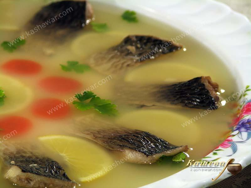 Jellied carp – recipe with photo, Russian cuisine
